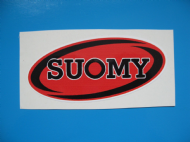 SUOMY helmet sticker/decal x2